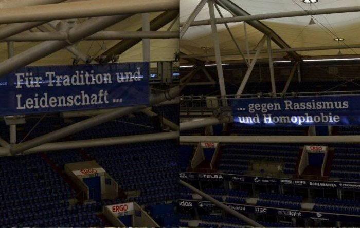 FC Schalke 04 gegen Rassismus und Homophobie