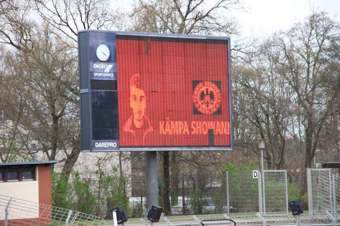 KÄMPA SHOWAN – Unterstützung im Stadion bei St. Pauli und TeBe