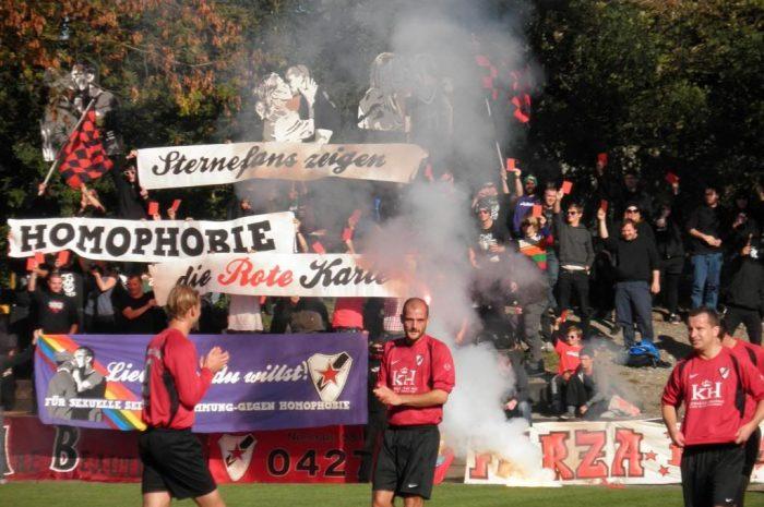 Anti-Homophobie-Wochen beim Roten Stern Leipzig
