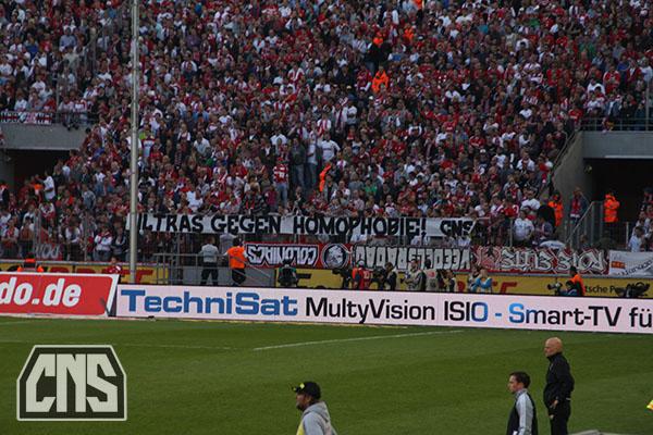 Ultras gegen Homophobie! CNS