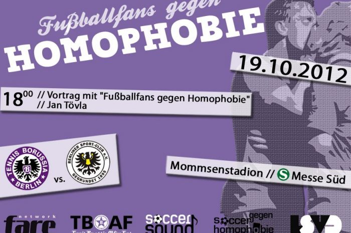 Tennis Borussia Berlin gegen Homophobie