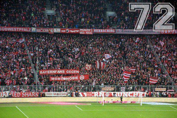 Bayernfans gegen Homophobie