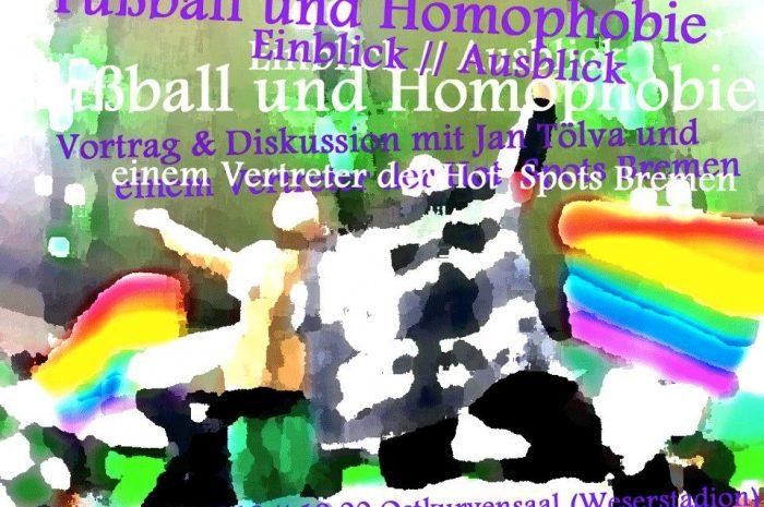 Fußball und Homophobie | Vortrag und Diskussion in Bremen