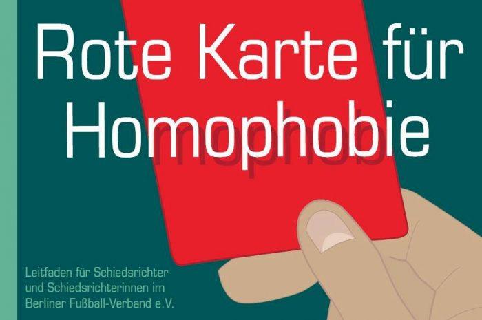 Schiris gegen Homophobie im Fußball