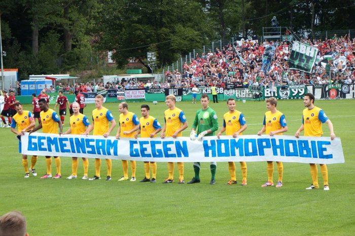Gemeinsam gegen Homophobie