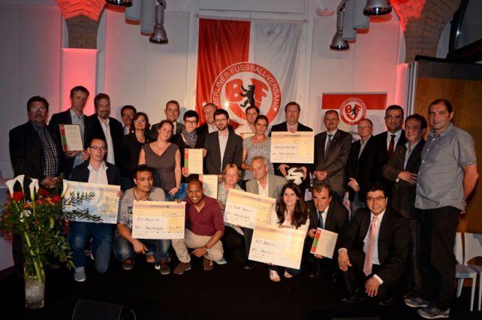 Auszeichnung für Berliner Fußballvereine